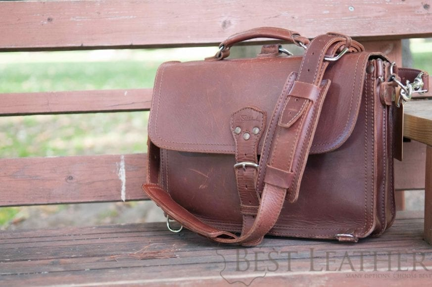 Saddleback Leather Thin Briefcase Review Bestleather Org