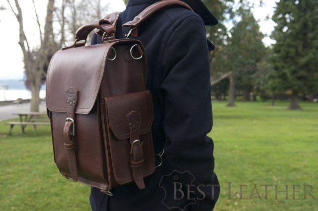 Saddleback Leather Quot The Tank Quot Backpack Review