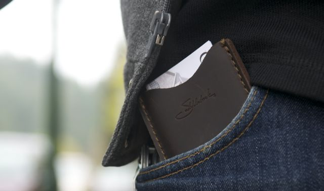 Saddleback Leather Wallet sleeve with cards
