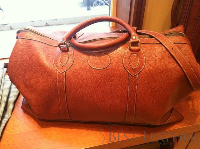 Paul Stuart All Leather Duffel - $847