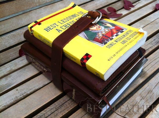 Saddleback Leather Utility Straps Use Book Carry