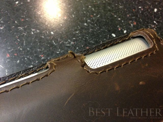Saddleback Leather iPad 3 Case frayed thread