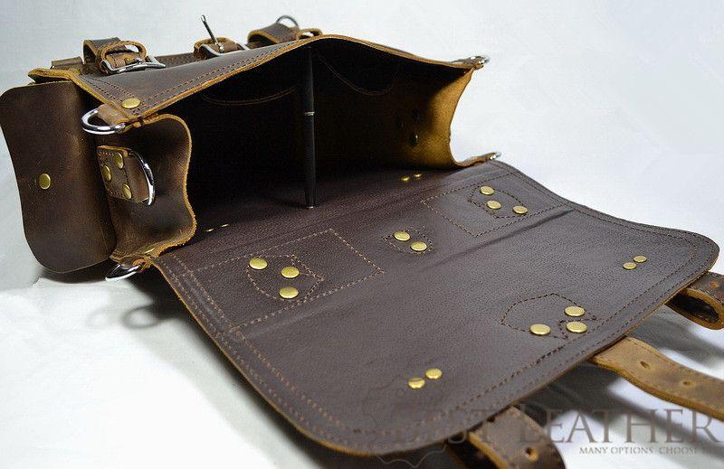 Marlondo Leather Briefcase Single