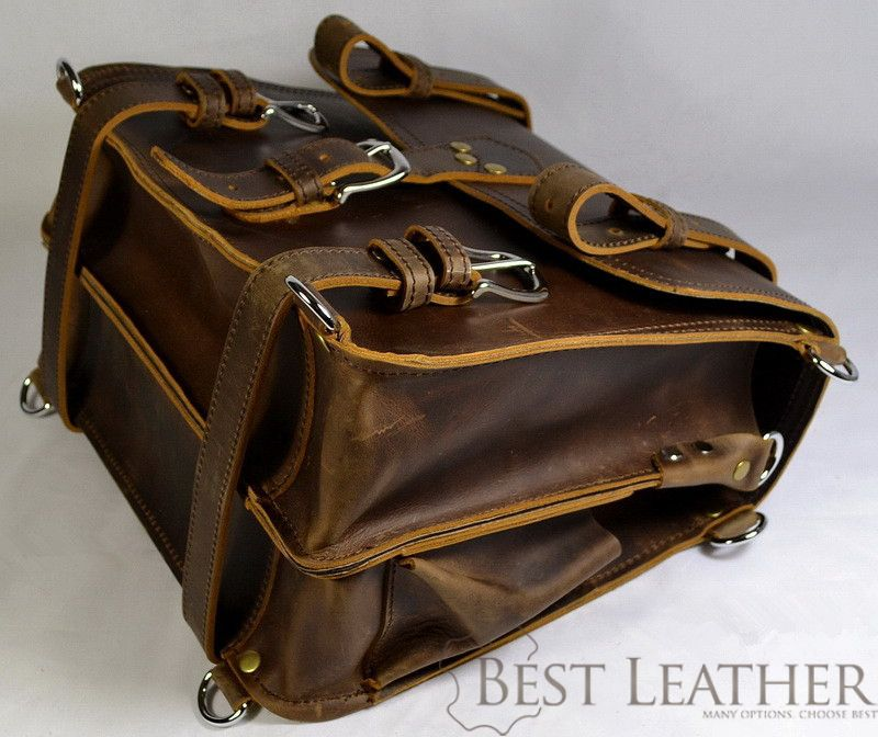 Marlondo Leather Briefcase Classic