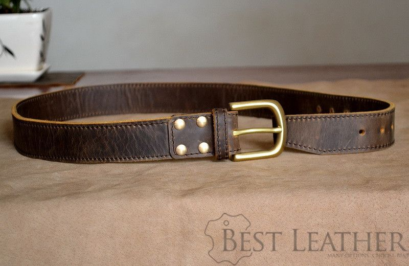 Marlondo Leather Briefcase Belt