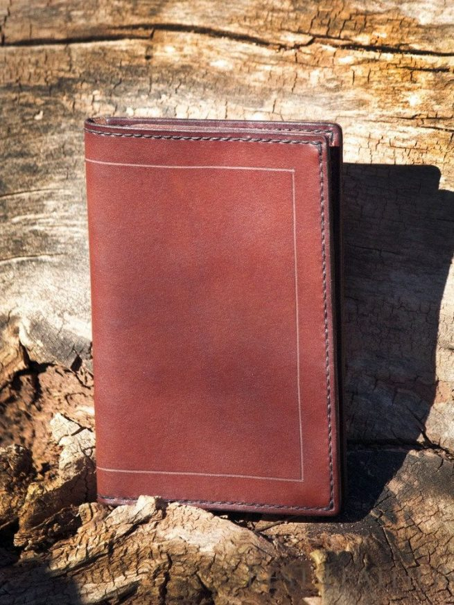 InkLeaf Leather Field Notes Cover