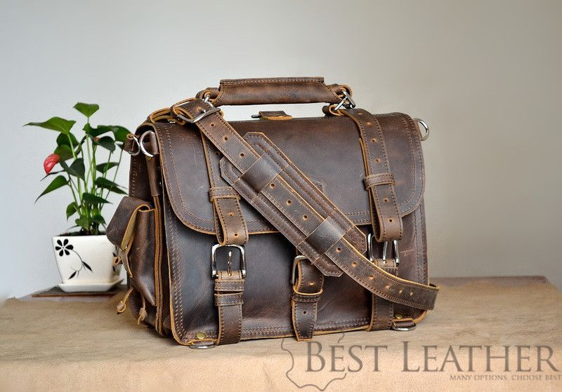 marlondo leather classic briefcase