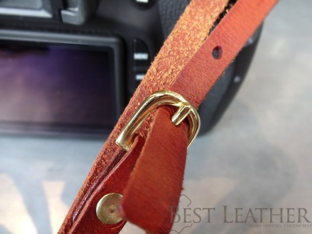 Hidden Mountain Curriers Leather Camera Strap3