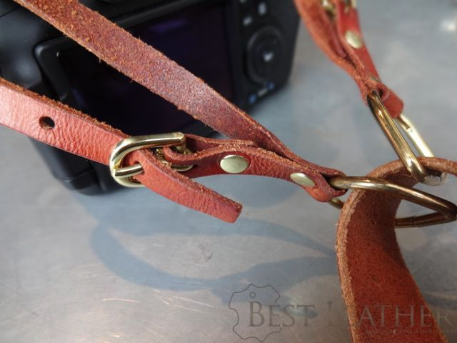 Hidden Mountain Curriers Leather Camera Strap5