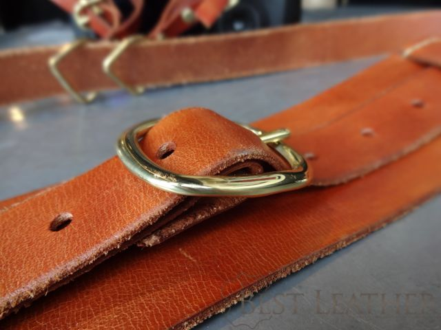 Hidden Mountain Curriers Leather Camera Strap7