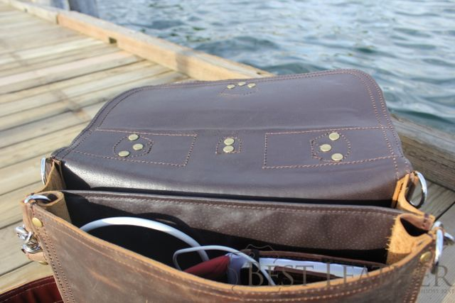 Marlondo Leather Thin Briefcase05