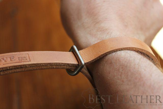 Tap & Dye Camera Leather Wrist Strap1