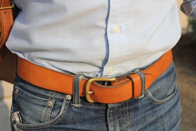 Simple Leather Belt 3 Month Review1
