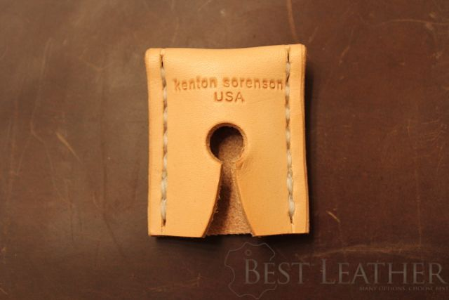 Kenton Sorenson Leather Safety Razor Sheath Review2