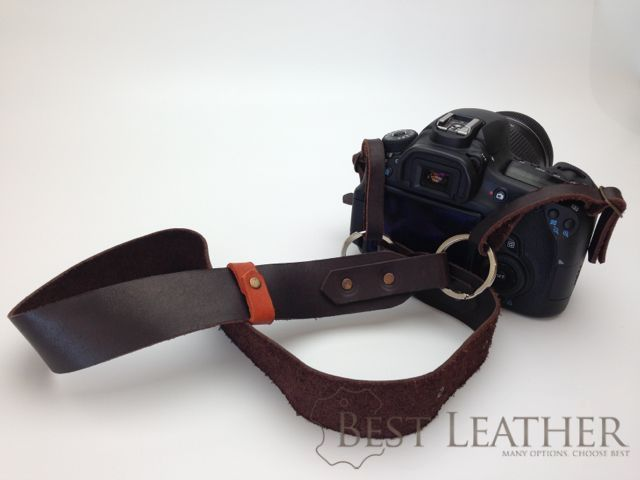 Viveo Leather Camera Strap Review1
