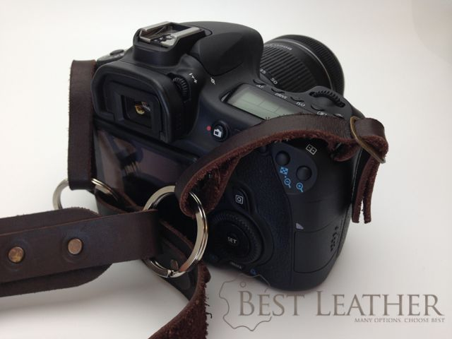 Viveo Leather Camera Strap Review2