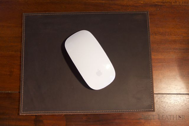 Urban Cow Leather Mouse Pad Review1