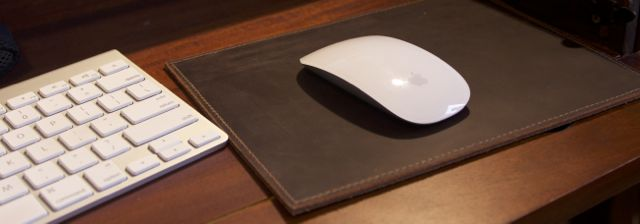 Urban Cow Leather Mouse Pad Review4
