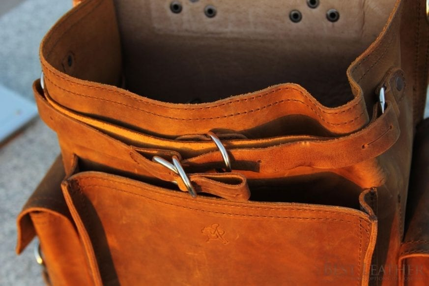 Saddleback Leather Square Backpack Review21