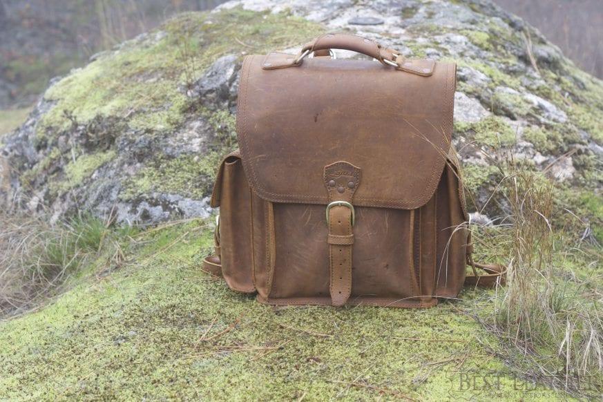 Saddleback Leather Squared Backpack Amp New Tobacco Leather