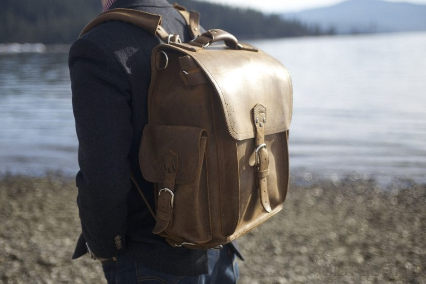 Saddleback Leather Squared Backpack Review09