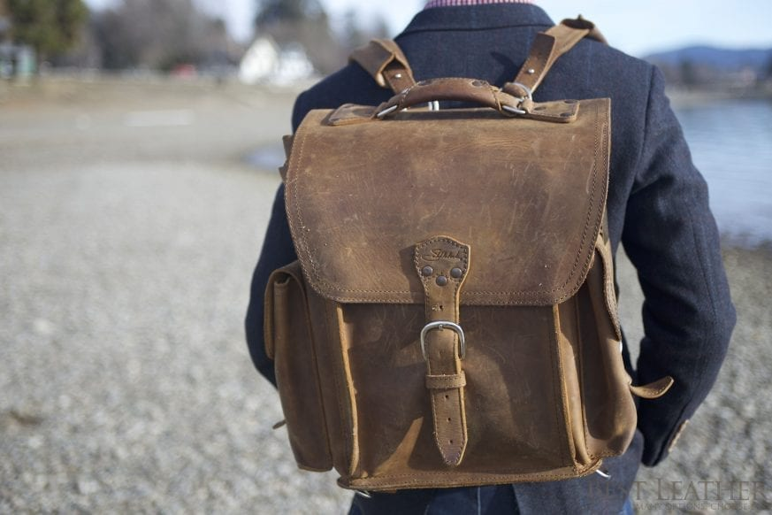 Saddleback Leather Squared Backpack Review10