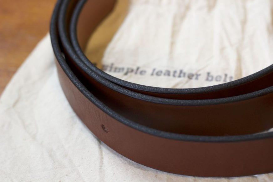 Simple Leather Belt Cinch Belt Review2