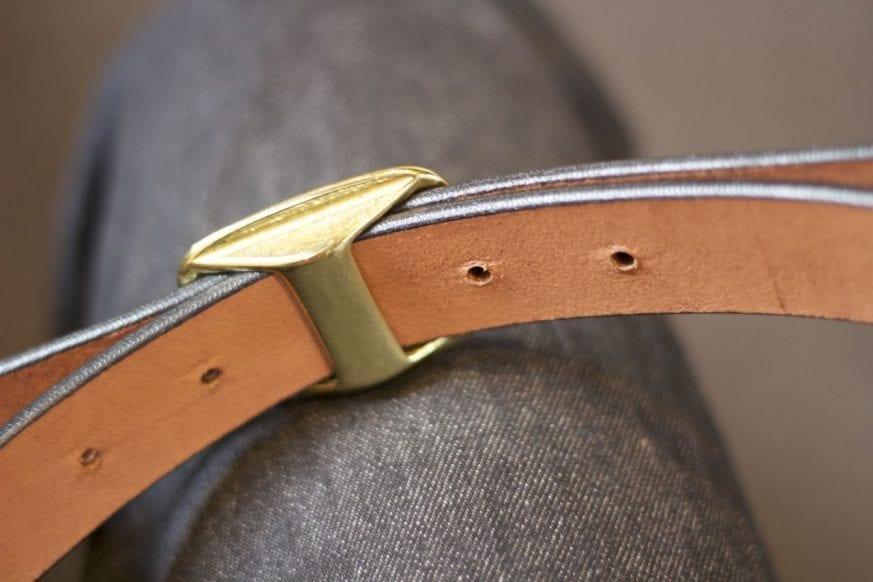 Simple Leather Belt Cinch Belt Review6