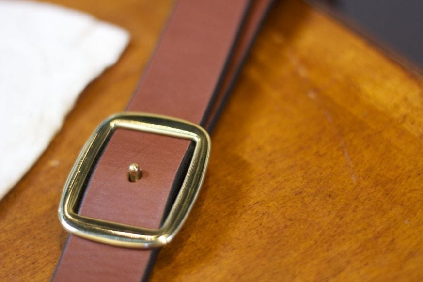 Simple Leather Belt Cinch Belt Review7