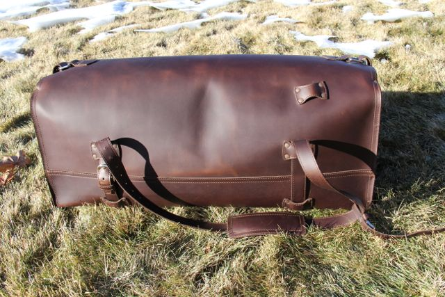 Saddleback Leather Beast Duffel Bag06