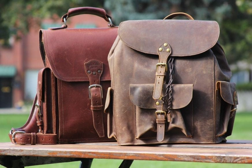 Saddleback Leather & Marlondo Leather Backpacks Review01