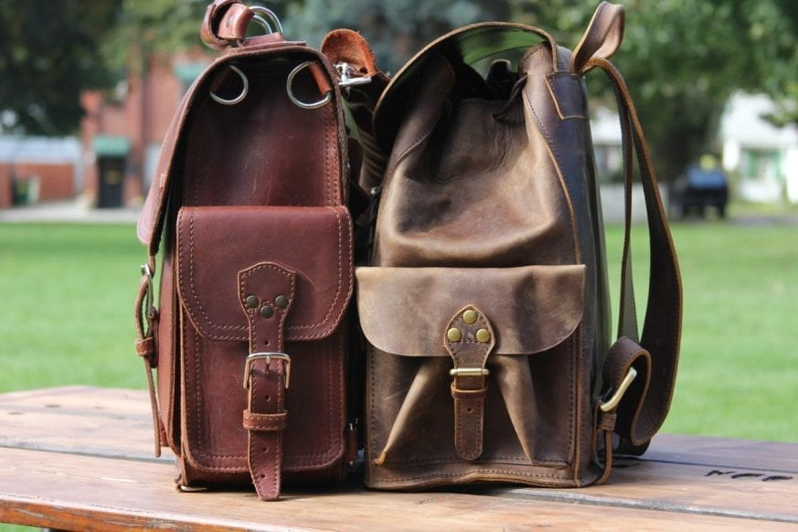 Saddleback Leather & Marlondo Leather Backpacks Review02