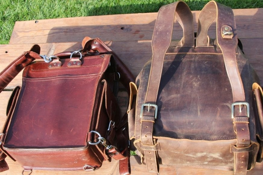 "Saddleback Leather ""Tank"" Backpack vs Marlondo Leather ... Saddleback Leather"