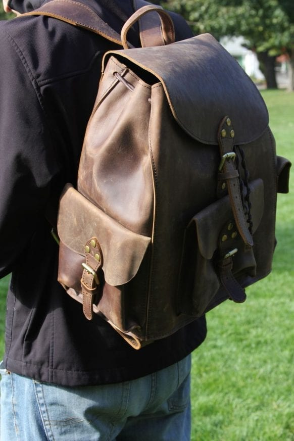 Saddleback Leather & Marlondo Leather Backpacks Review16