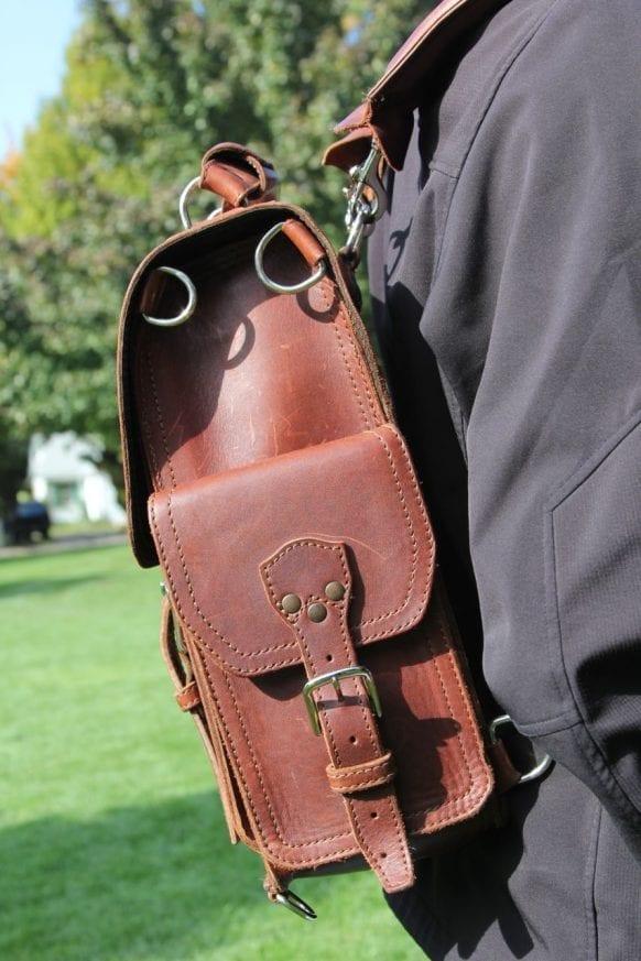 Saddleback Leather & Marlondo Leather Backpacks Review18