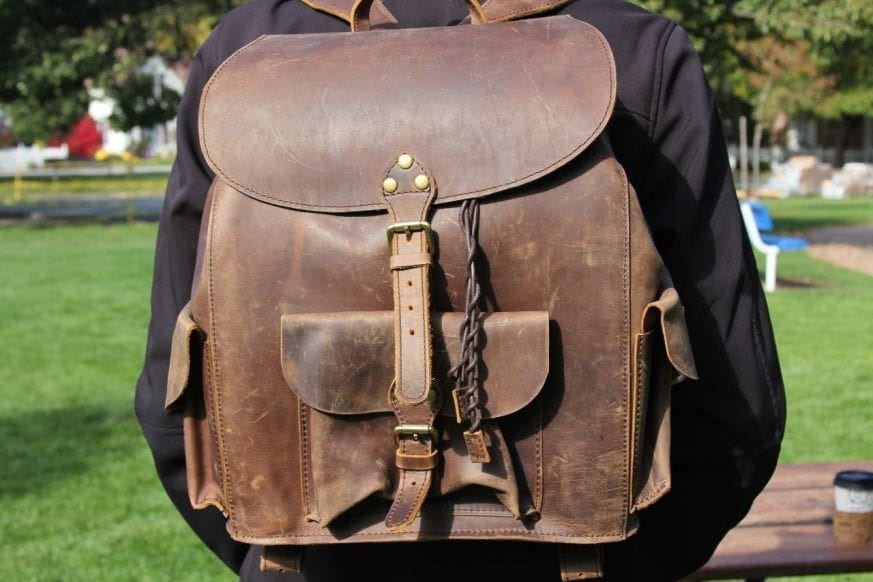 Saddleback Leather & Marlondo Leather Backpacks Review51